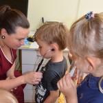 Maži basi darželio vaikų susipažinimas su seselės profesija