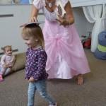 Maži basi vaikų darželį aplankė princesė