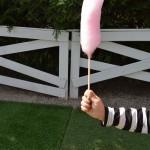 Maži basi vaikų darželyje cukraus vata