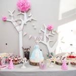 Maži basi vaikų gimtadienio dekoracijos